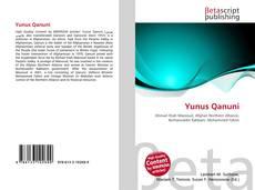 Yunus Qanuni kitap kapağı