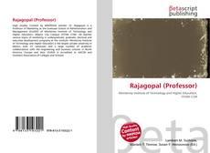 Bookcover of Rajagopal (Professor)