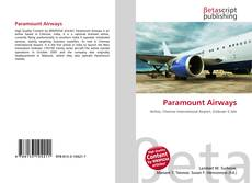Bookcover of Paramount Airways