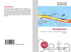 Bookcover of Wangenheim