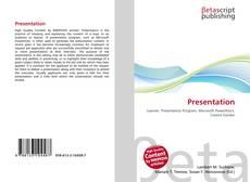 Presentation kitap kapağı