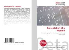 Bookcover of Presentation of a Monoid