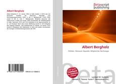 Buchcover von Albert Bergholz