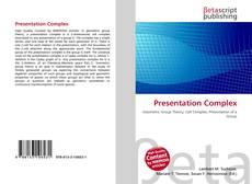 Presentation Complex kitap kapağı