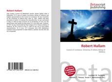 Bookcover of Robert Hallam