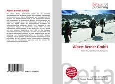 Portada del libro de Albert Berner GmbH