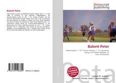 Borítókép a  Babett Peter - hoz