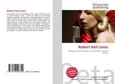 Bookcover of Robert Hall Lewis