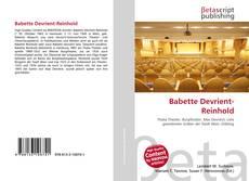 Copertina di Babette Devrient-Reinhold
