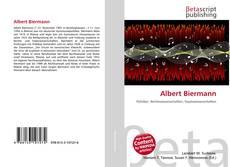 Portada del libro de Albert Biermann