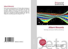 Portada del libro de Albert Biesantz