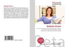 Bookcover of Babette Simon