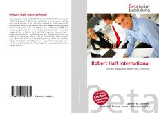 Bookcover of Robert Half International