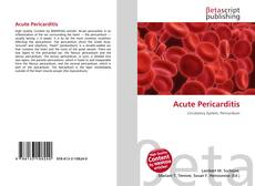 Bookcover of Acute Pericarditis