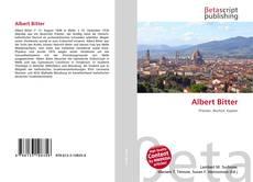 Bookcover of Albert Bitter