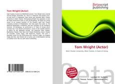 Portada del libro de Tom Wright (Actor)