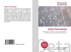 Bookcover of Sofya Yanovskaya
