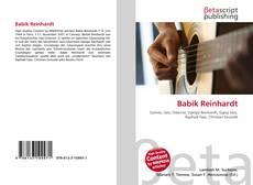 Bookcover of Babik Reinhardt