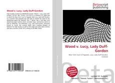 Wood v. Lucy, Lady Duff-Gordon的封面