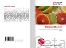 Copertina di Preserved Lemon