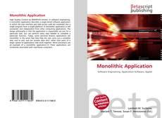 Couverture de Monolithic Application