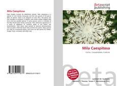 Mila Caespitosa kitap kapağı