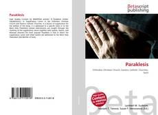 Bookcover of Paraklesis