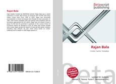 Rajan Bala kitap kapağı