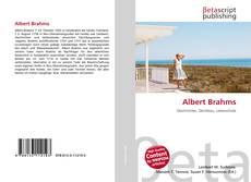 Copertina di Albert Brahms