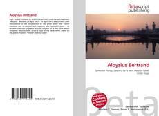 Couverture de Aloysius Bertrand
