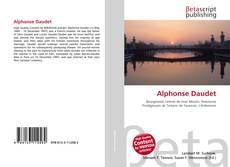 Bookcover of Alphonse Daudet