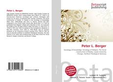 Bookcover of Peter L. Berger