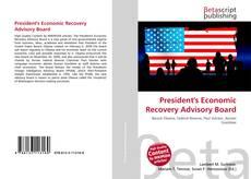 Bookcover of President's Economic Recovery Advisory Board