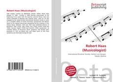 Bookcover of Robert Haas (Musicologist)