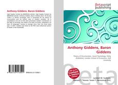 Copertina di Anthony Giddens, Baron Giddens