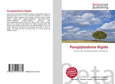 Buchcover von Parapiptadenia Rigida