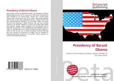 Presidency of Barack Obama kitap kapağı