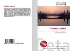 Обложка Frédéric Mistral