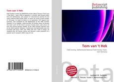Capa do livro de Tom van 't Hek