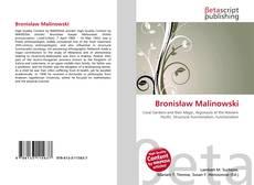 Bookcover of Bronisław Malinowski