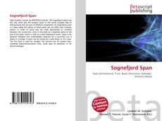 Bookcover of Sognefjord Span