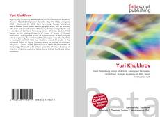 Bookcover of Yuri Khukhrov