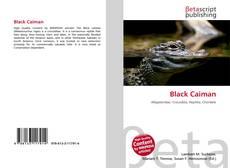 Capa do livro de Black Caiman