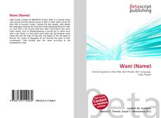 Bookcover of Wani (Name)