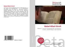 Couverture de Babel-Bibel-Streit