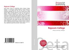 Bookcover of Rajaram College
