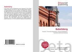 Buchcover von Babelsberg