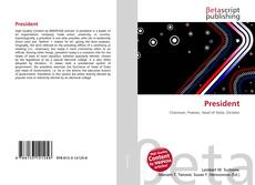 Bookcover of President
