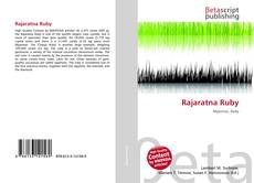 Bookcover of Rajaratna Ruby