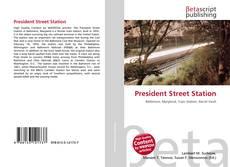 Capa do livro de President Street Station